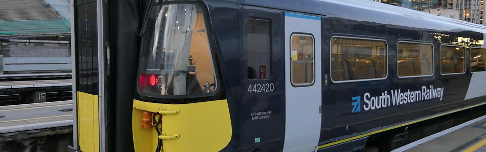 DB ESG announce design and installation of desk panels for South Western Railways