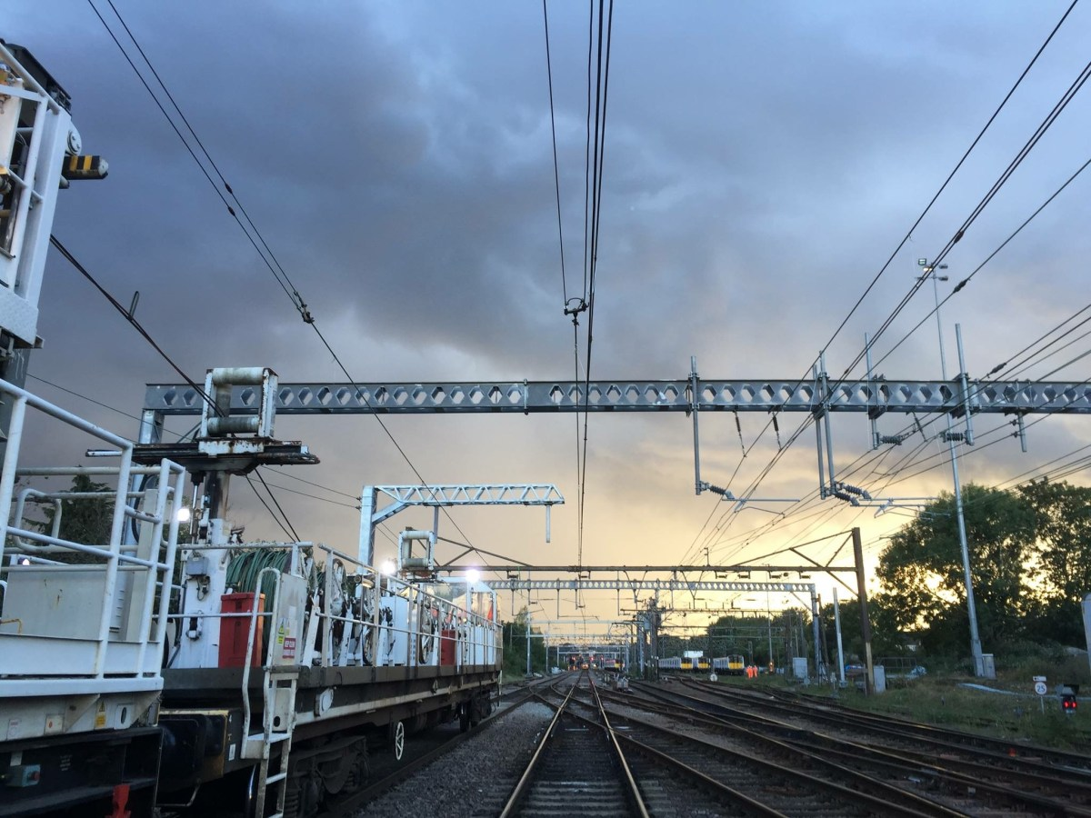 Overhead line and power upgrades set to improve reliability of the Great Eastern Main Line