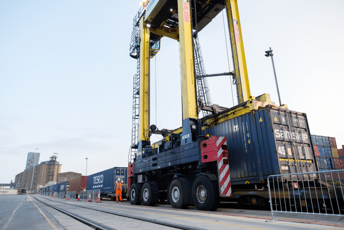 HS2 will enable growth in rail freight usage at UK ports