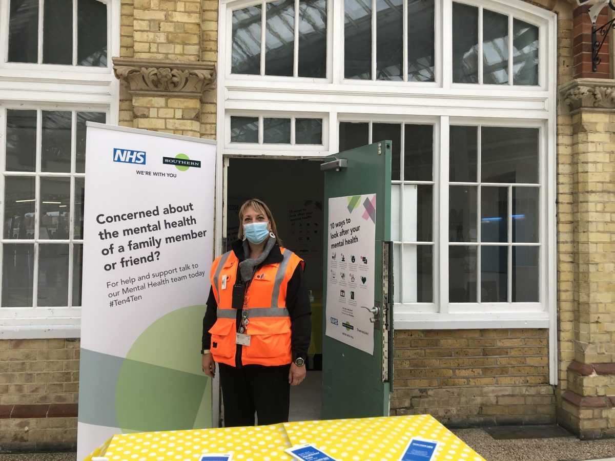 Southern station hubs offer support to mark World Mental Health Day