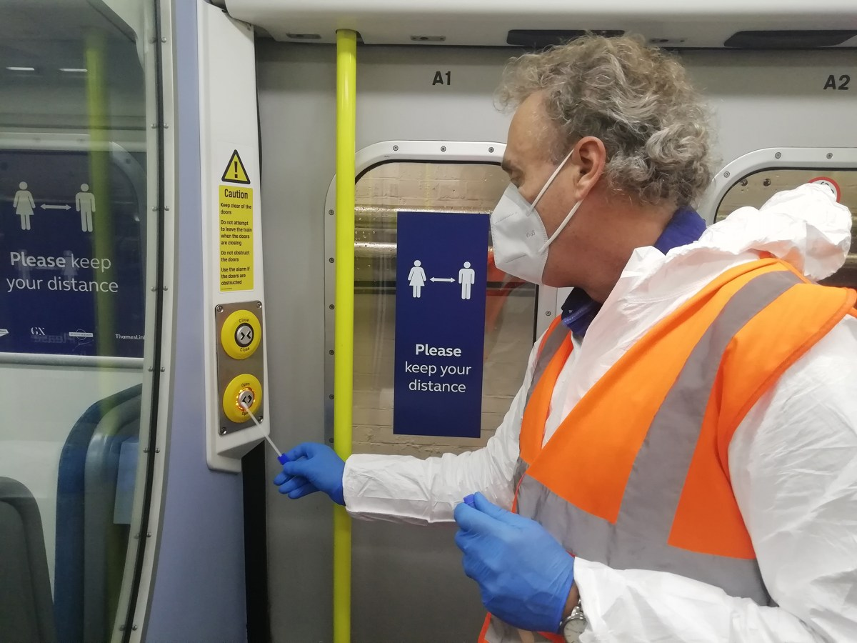 Lab tests see Southern, Thameslink and Great Northern trains test negative for Covid