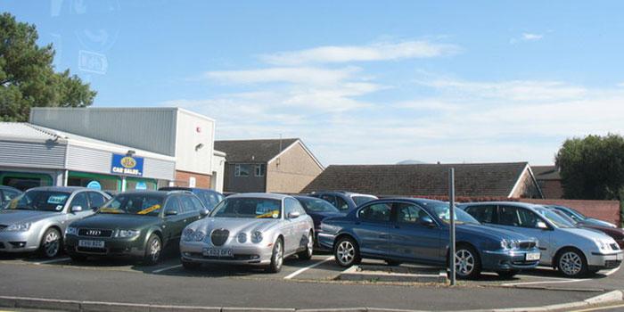 Jls Car Sales Lot At Penrhos Garnedd   Geograph.Org.Uk   236489 2