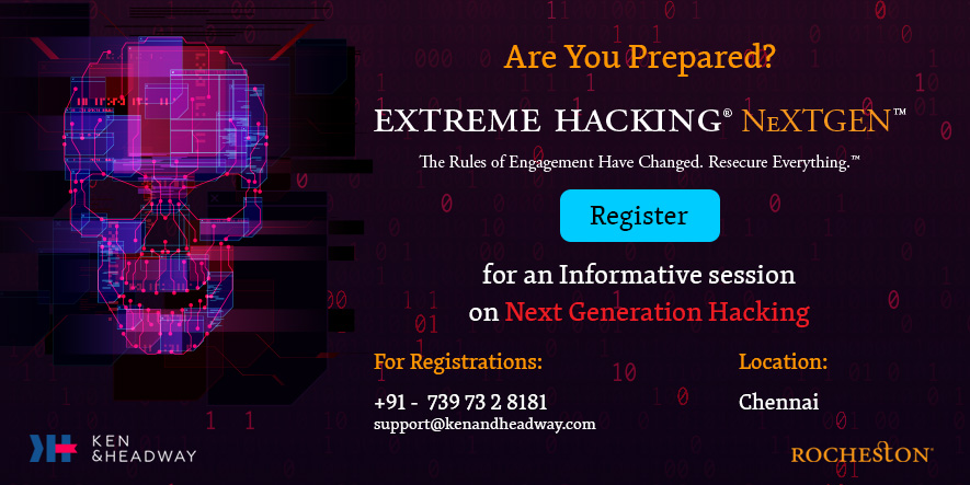 Extreme Hacking® NeXTGEN™ - Are You Prepared?