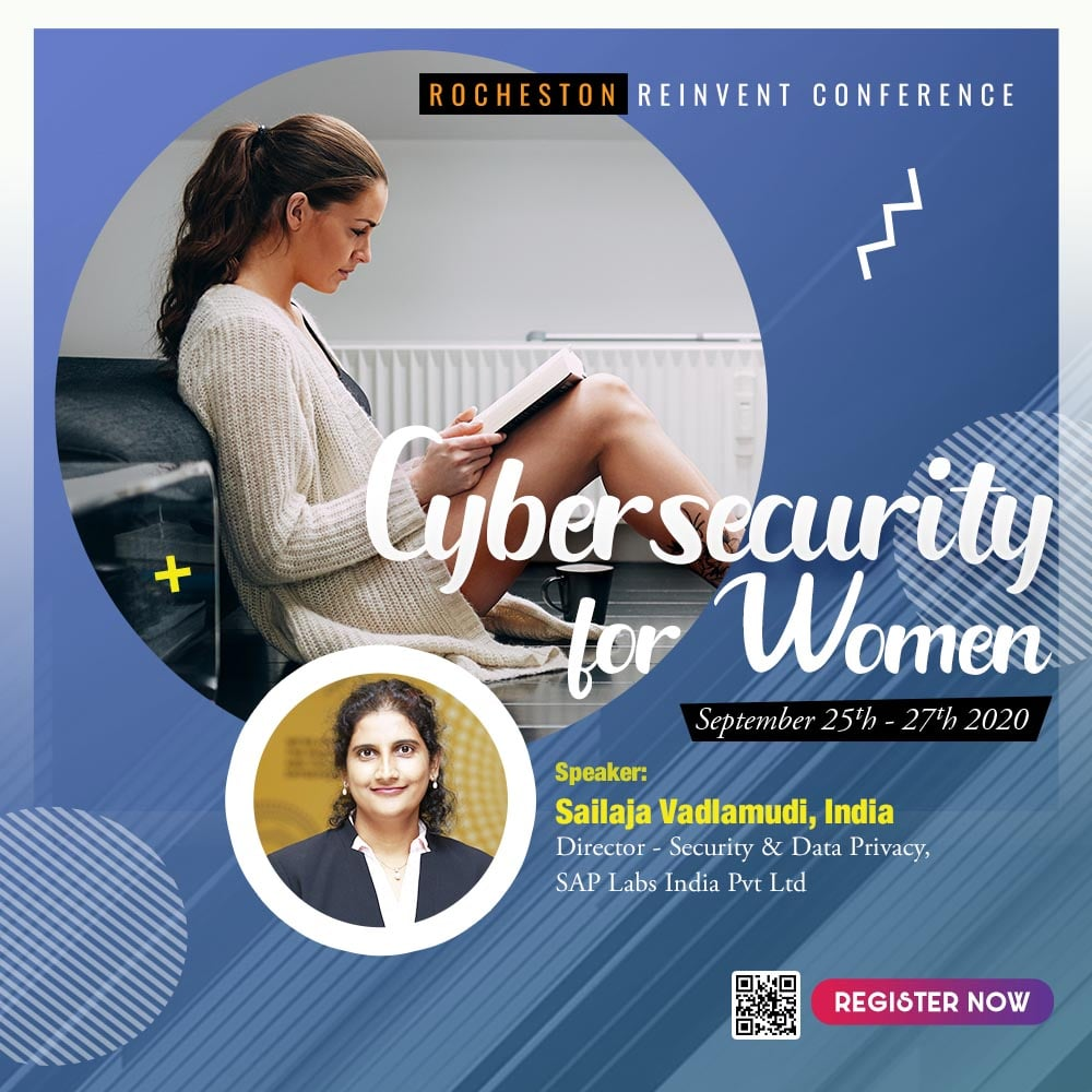Sailaja Vadlamudi Talks on Growth and Success for Women in Cyber Security and Privacy is Myth and Reality