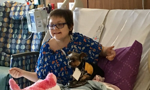 Pet therapy brightens day of Sanford Children's patients ...