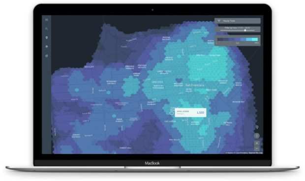 Atlas by SAP: Foot traffic visualization