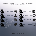 free twitch panels download