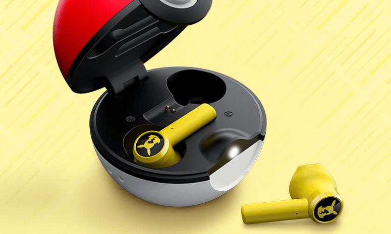 Razer Pikachu earbuds.