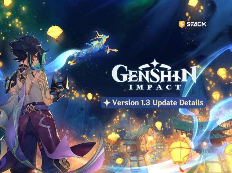 genshin impact v1.3