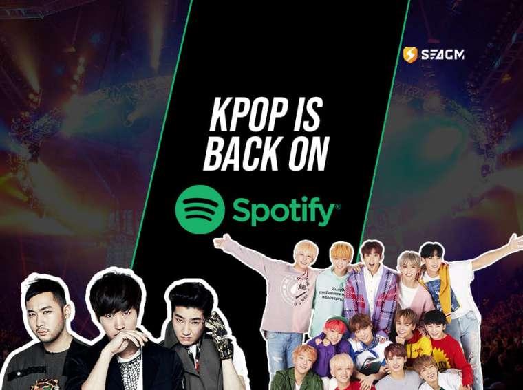 kpop spotify