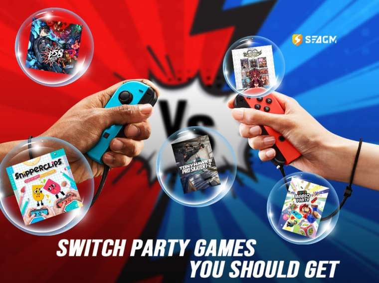 nintendo switch party games 2021