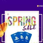 playstation spring sale card