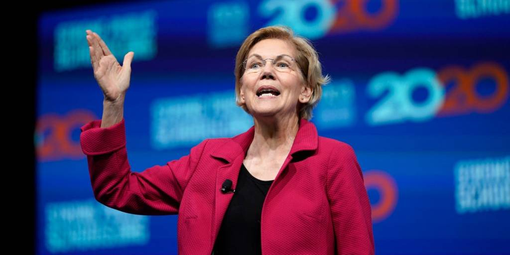 Business Business News Warren held wine fundraiser despite ...