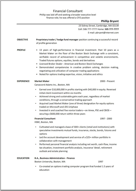 job description of business consultant
