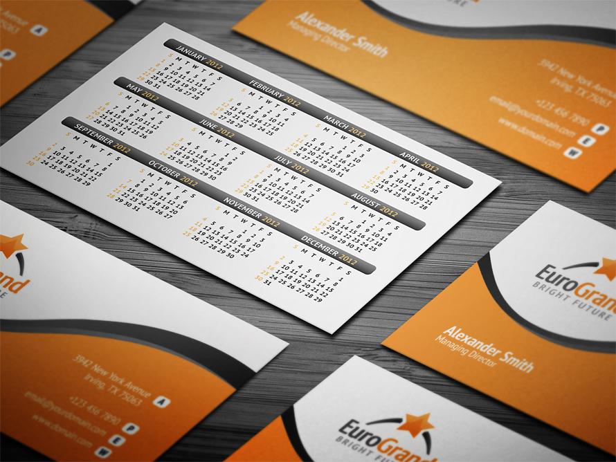 Calendar For Business Cards News