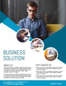 new business flyers templates news