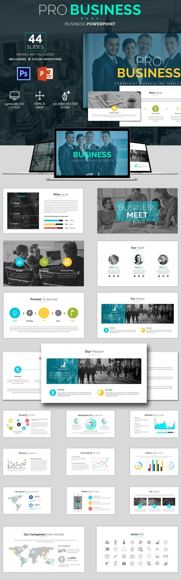 Cool business powerpoint templates news cool business powerpoint templates toneelgroepblik Choice Image