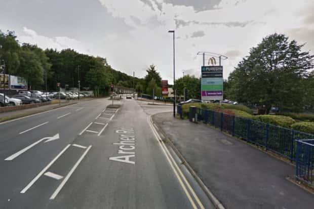 Burglars raid Sheffield business