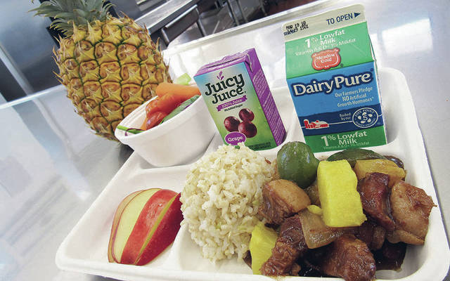 Public schools offer scratch-cooked pork with Maui Gold pineapple