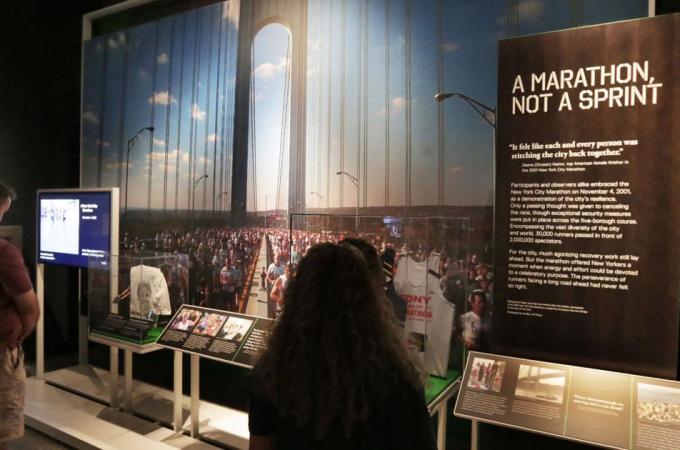 Correction: Sports Exhibit-9/11 story