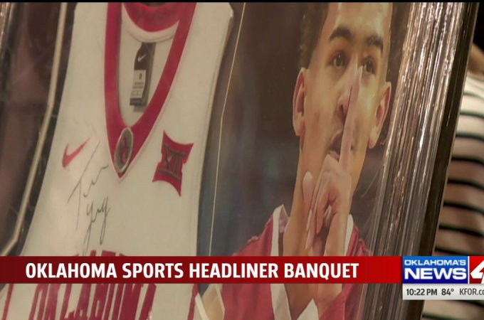 State's Best Honored at Oklahoma Sports Headliner Banquet