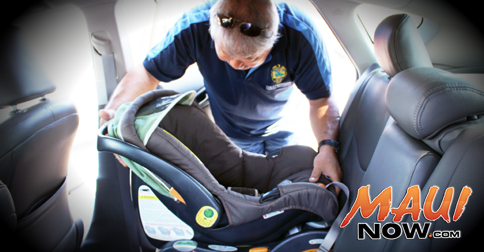 Maui Now : Child Passenger Safety Week is September 23-29