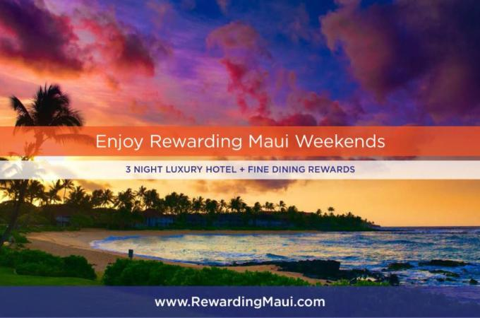 Recruiting for Good Launches Rewarding Maui Weekends