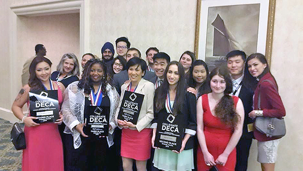 DECA team photo