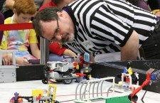 FIRST LEGO League brings STEM, robots, and hundreds of area students to campus this weekend