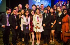 DECA team is all business in international competition, students place in Top Ten
