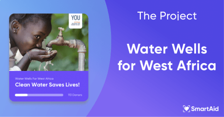 About the Project – Water Wells in West Africa