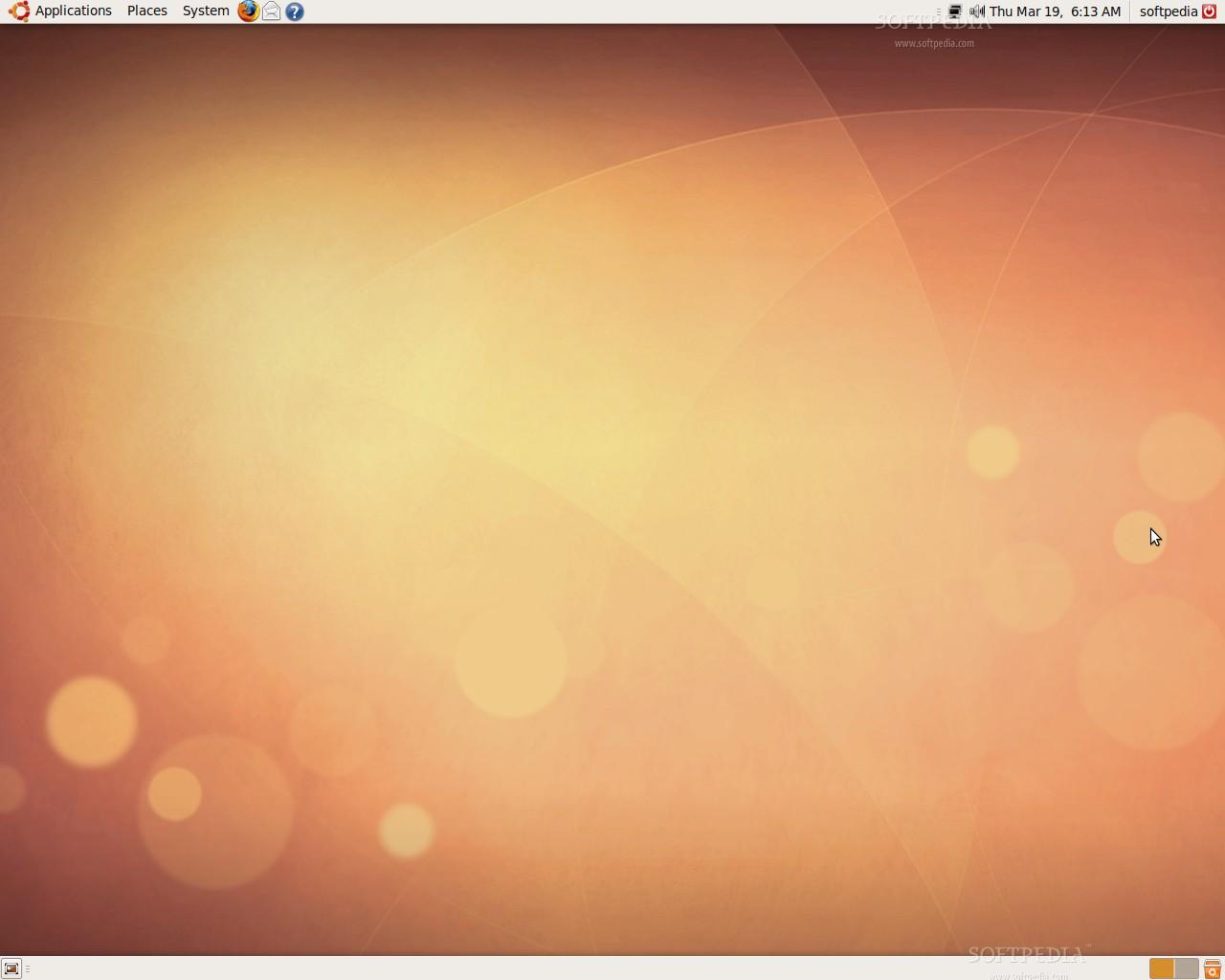 tampilan standard ubuntu