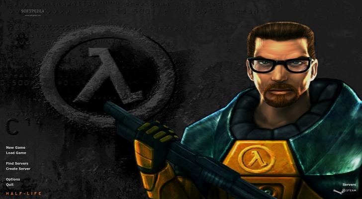 Menú principal de Half-Life