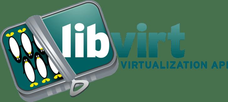 El logotipo de Libvirt