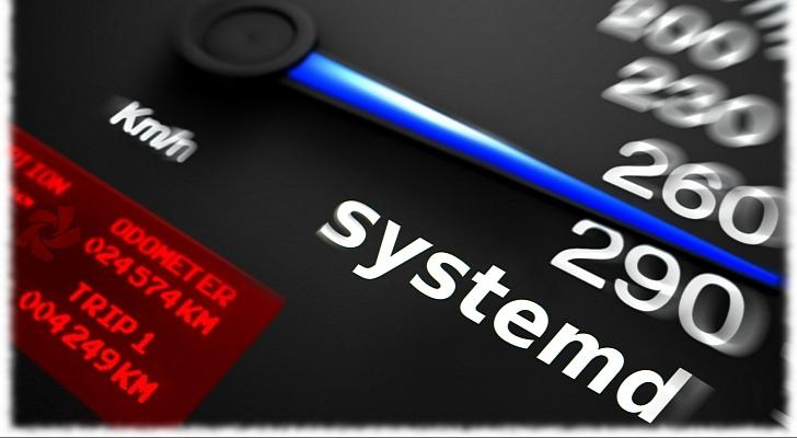 el rendimiento de systemd