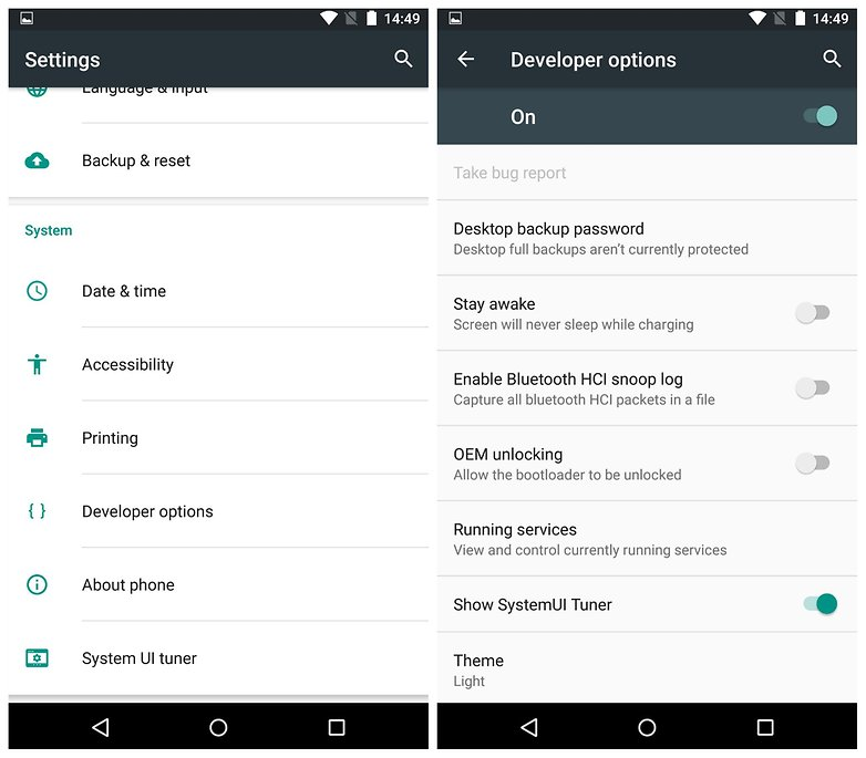 Image result for Developers Settings