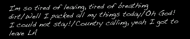 """Country Calling"""