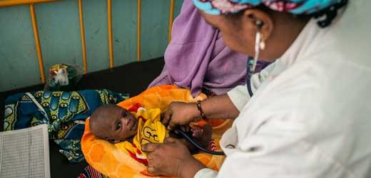 Tschadsee-Region: 500.000 Kindern droht Hungertod