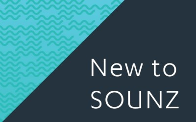 New to SOUNZ November 2019