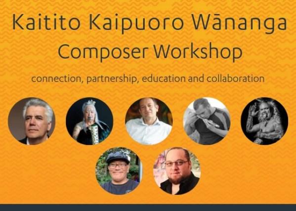 Kaitito Kaipuoro Wānanga | Composer Workshop