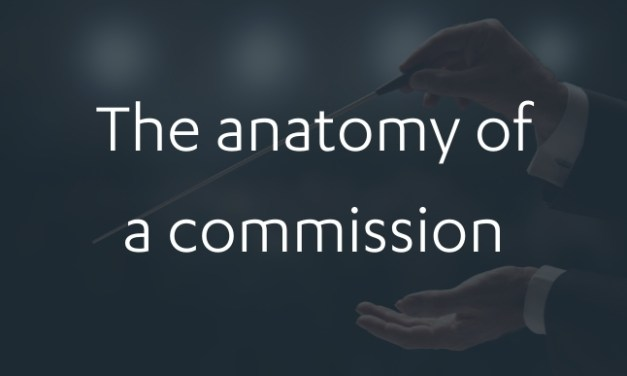 The anatomy of a commission