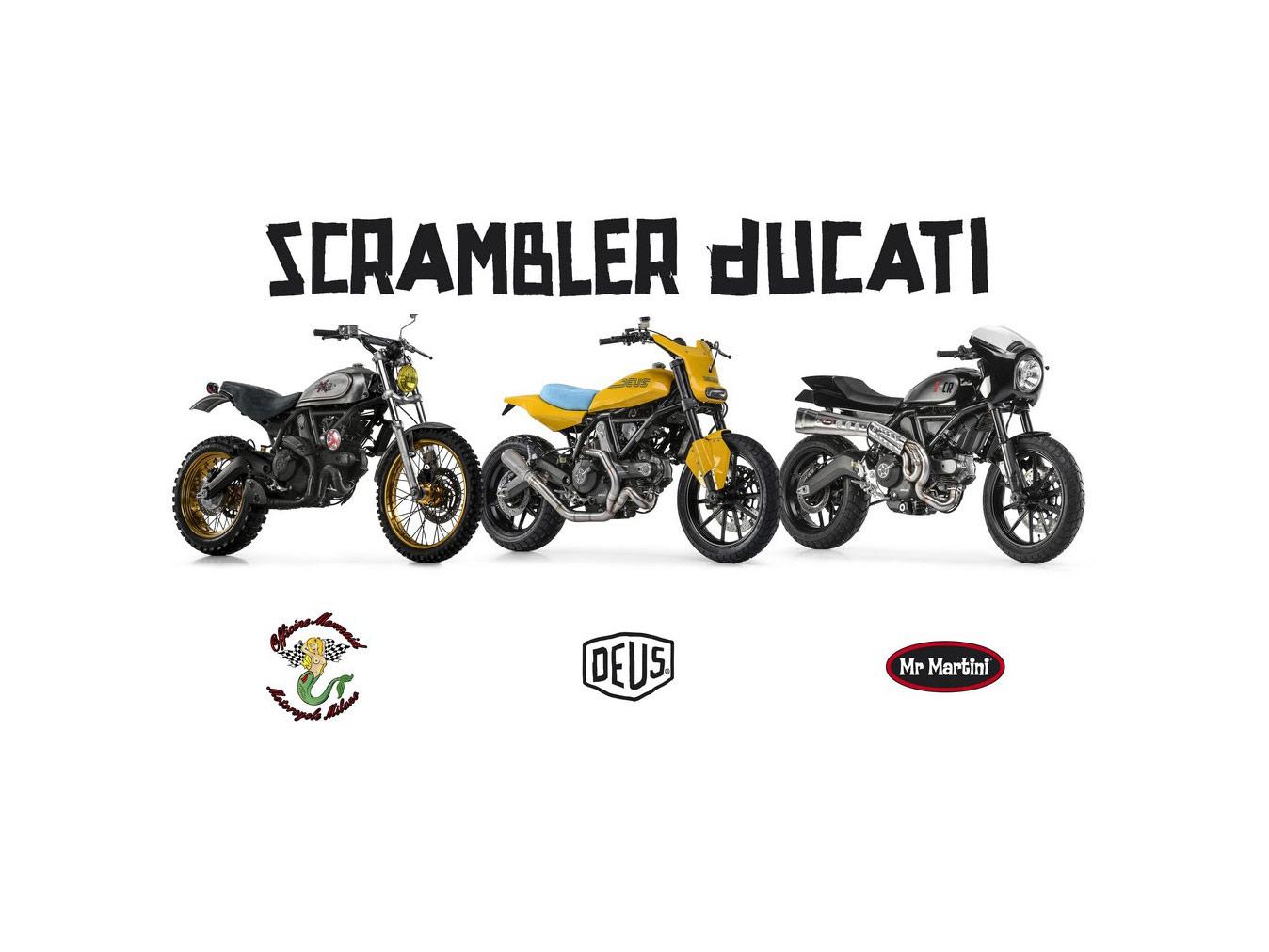 Scrambler Ducati Custom Rumble Kick Off Project Special