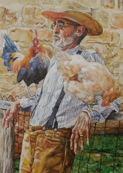 'The Chicken Whisperer' by Ruth Hardy, Spring High School