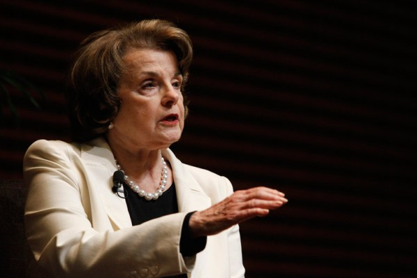 Feinstein at Stanford: U.S. needs to track possible terrorists