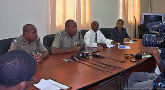 Police proudly announce significant strides in crime detection.