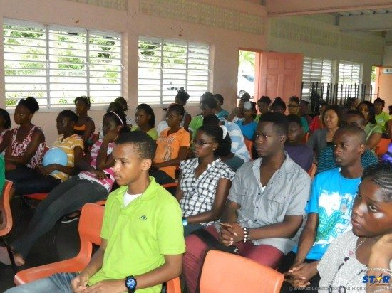 Students attending youth summit urged to probe, explore, and come up with ideas.