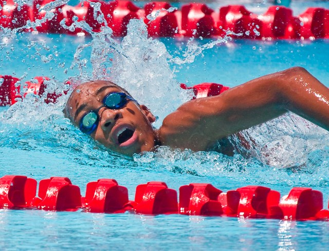 Runako Daniel set two national records at a recent competition in the United States.
