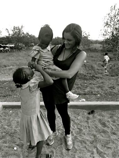 Third Place, Intercultural Exchange: Photo by Dominique Najarian. Tema, Ghana. Semester at Sea.