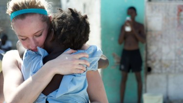 """""""When I reflect on Haiti, I wonder how often do I attempt to love and not give it my all? How often do I multitask and miss the whole point?"""" - Emma Fetting"""
