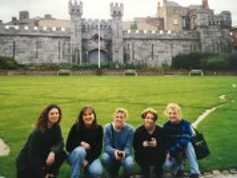 LaChelle Seleski and LBS friends, 1998